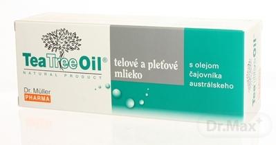 Dr. Müller Tea Tree Oil PLEŤOVÉ A TELOVÉ MLIEKO 1x150 ml, telové mlieko