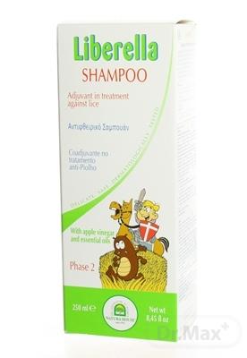 NH - Liberella šampón 1x250 ml, doplňujúca starostlivosť pri zavšivavení