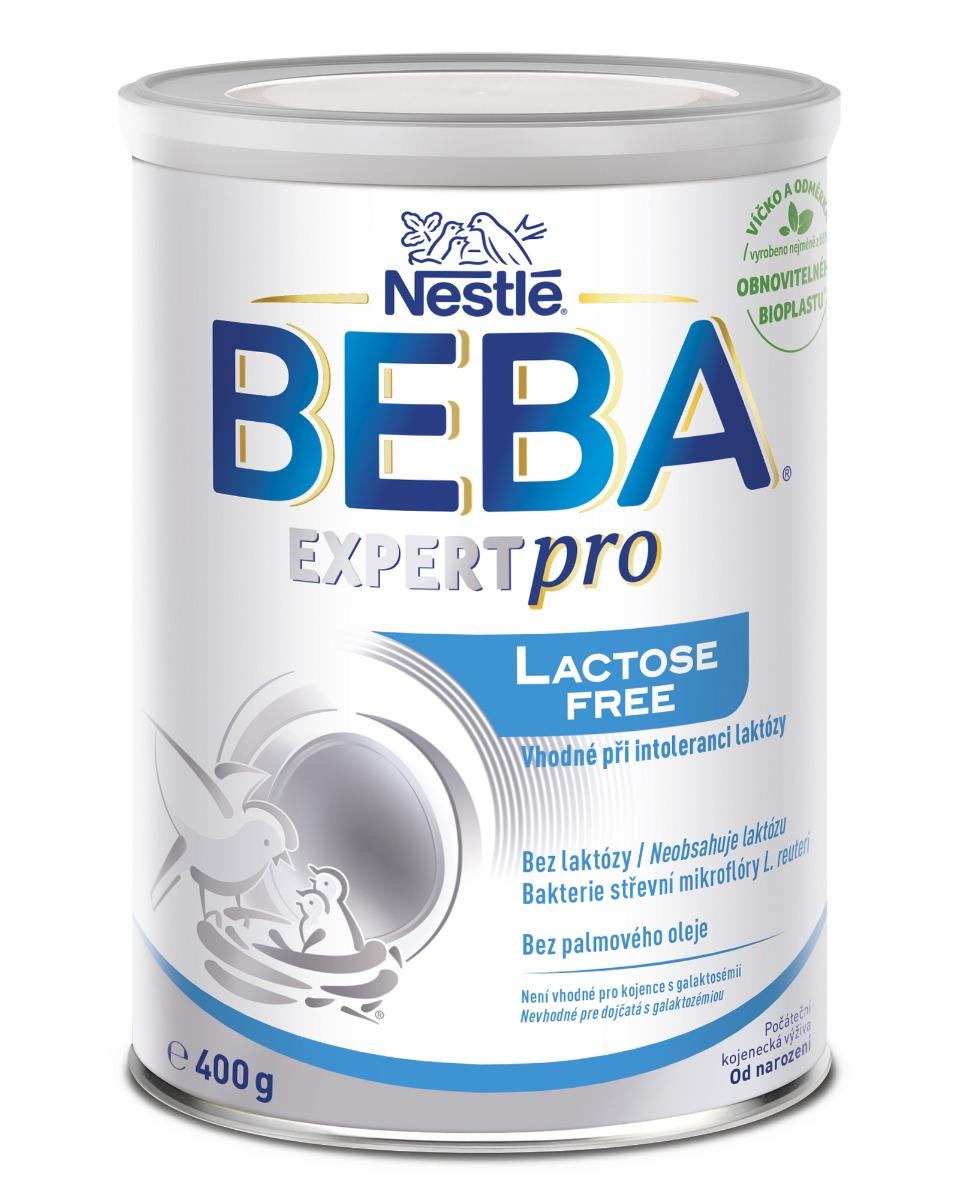 BEBA EXPERT pro Lactose free 1×400 g, dojčenská výživa, od narodenia