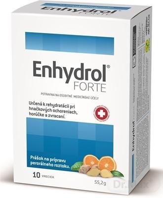 Enhydrol FORTE 1×10 ks, prášok vo vrecúškach