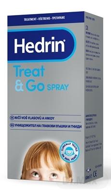 HEDRIN TREAT&GO SPRAY 1×60 ml, proti všiam a hnidám
